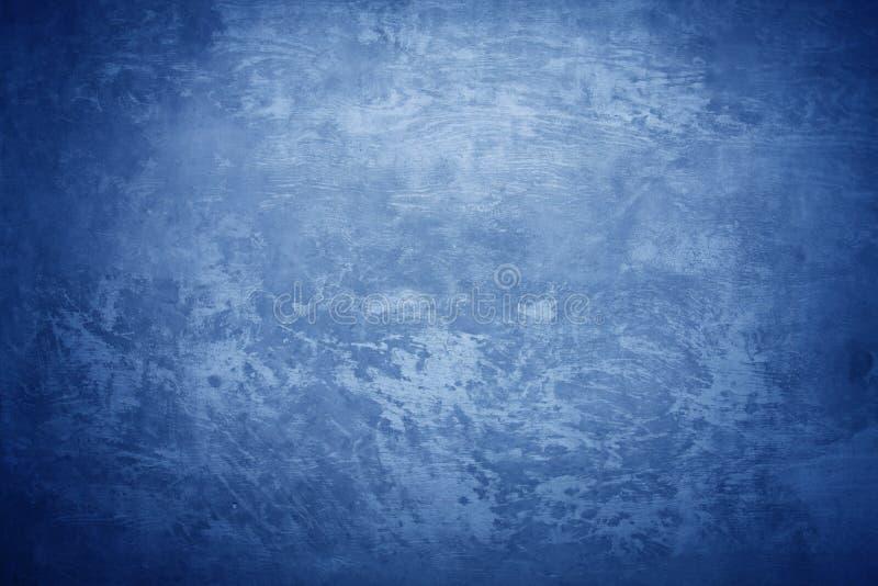 голубая холодная конкретная текстура стоковые фото