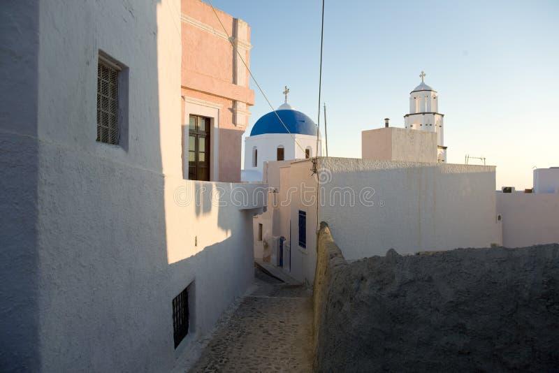 голубая церковь стоковое изображение rf