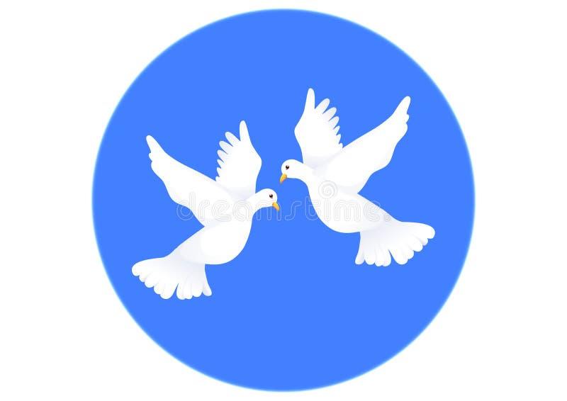 голуби бесплатная иллюстрация
