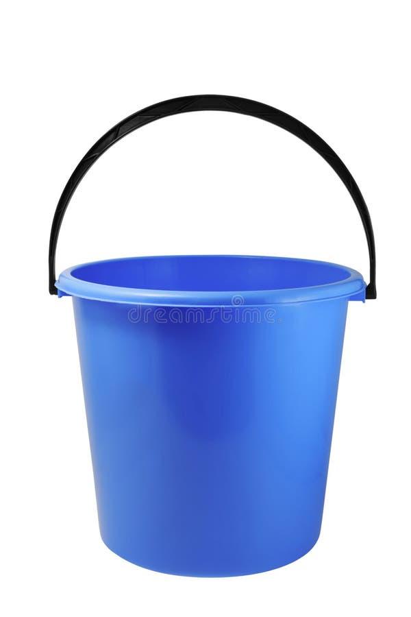 голубое ведро стоковое фото
