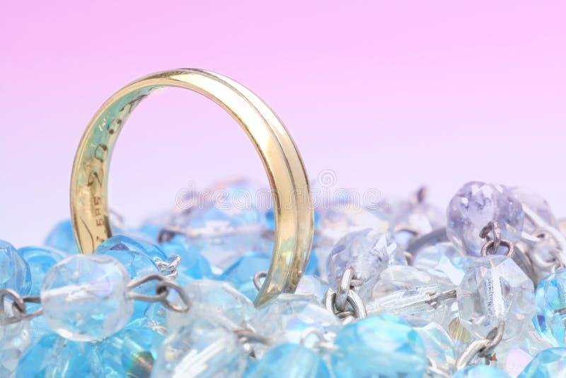 голубое венчание стоковое фото