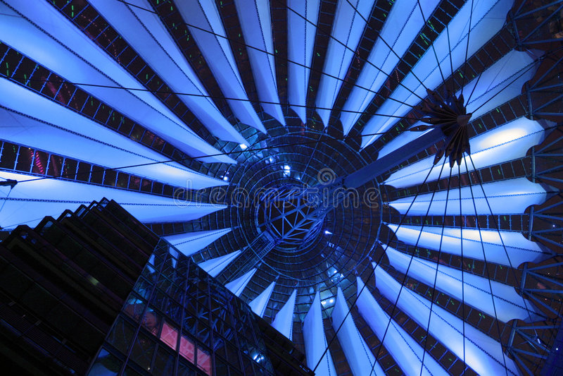 голубое высокотехнологичное стоковые фото