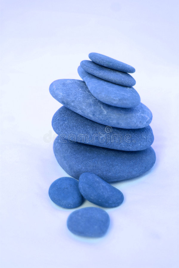 голубое Дзэн стоковые изображения