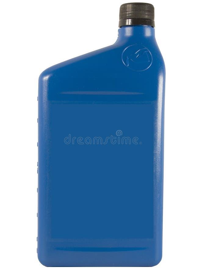 голубое масло бутылки стоковые фото