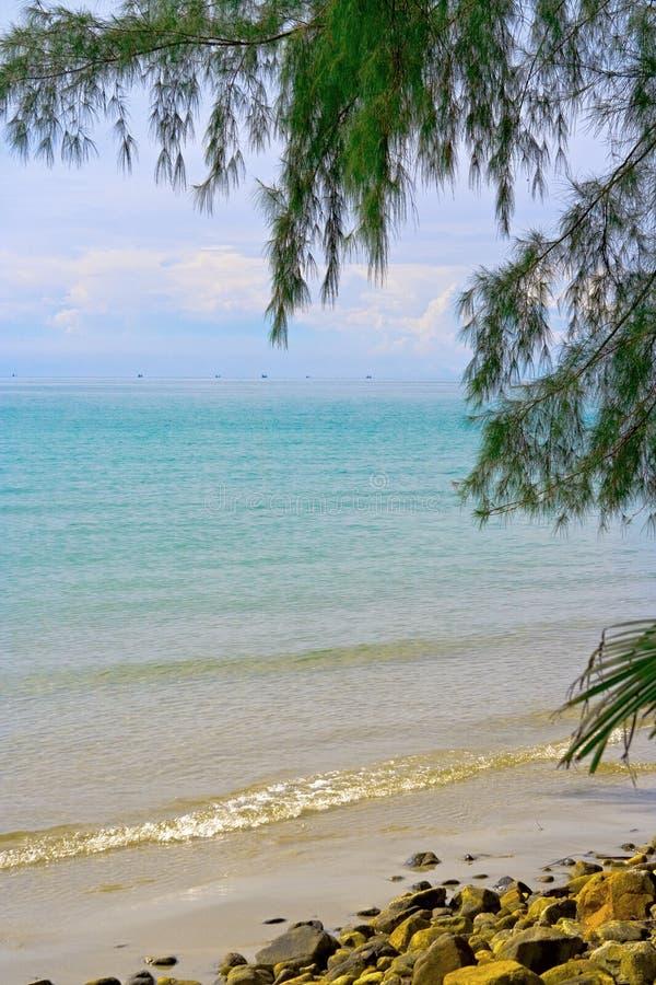 голубое море стоковые изображения