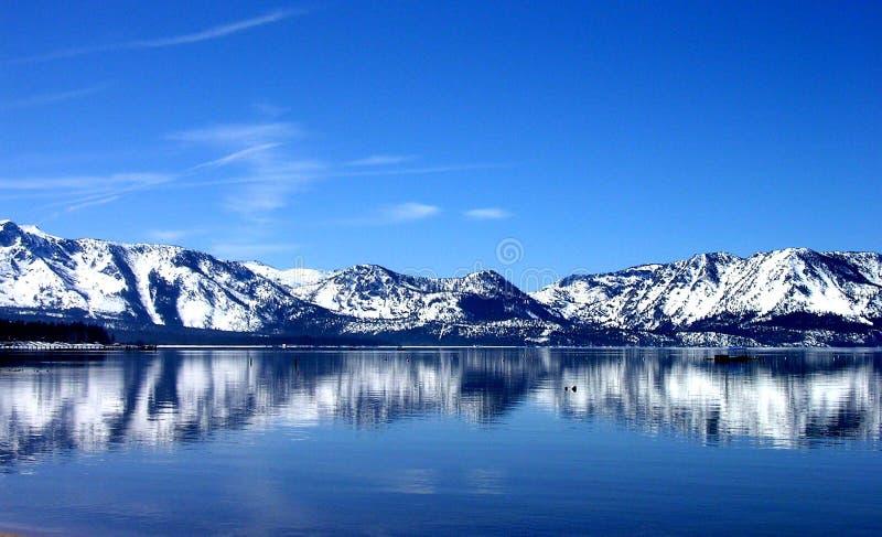 голубое отражение Стоковые Фото