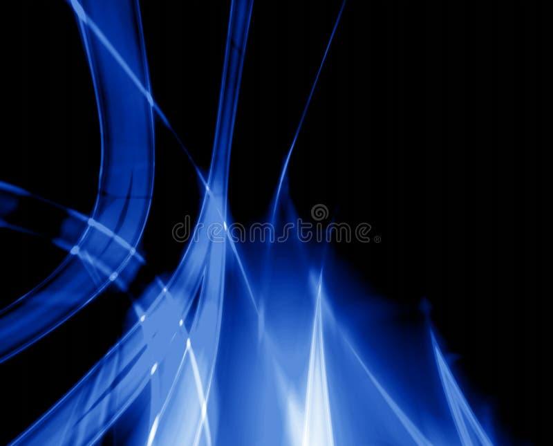 голубое пламя иллюстрация вектора