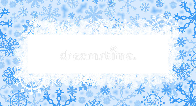 голубое рождество карточки иллюстрация штока