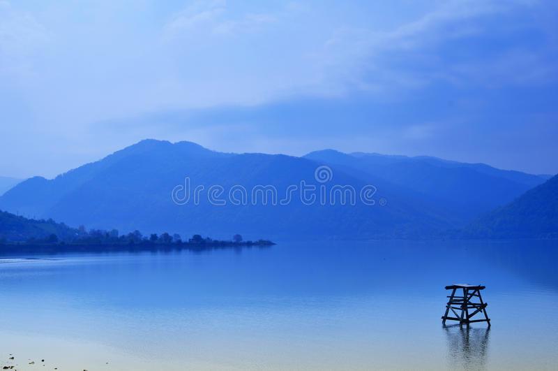 голубое сновидение стоковая фотография