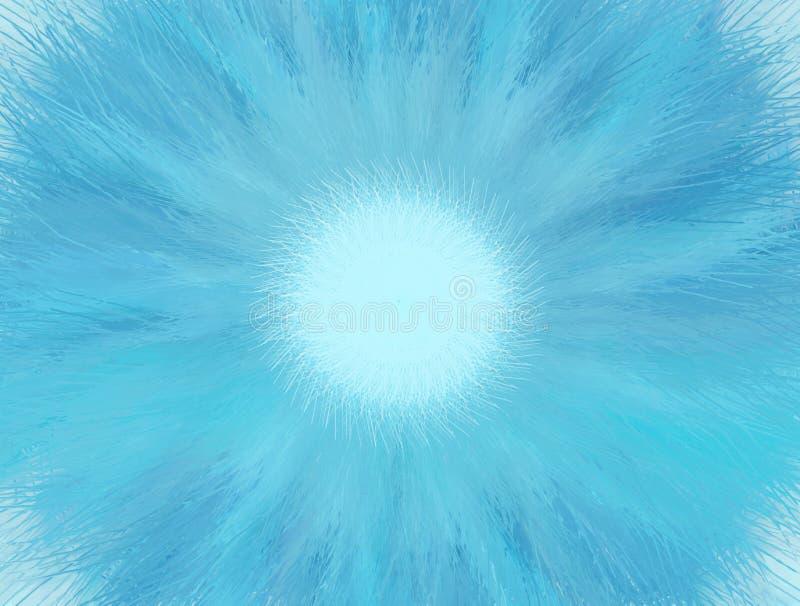 Голубое сплавливание иллюстрация штока