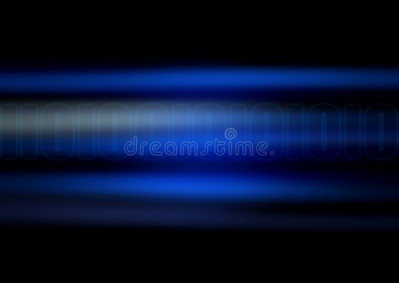 голубое цифровое бесплатная иллюстрация