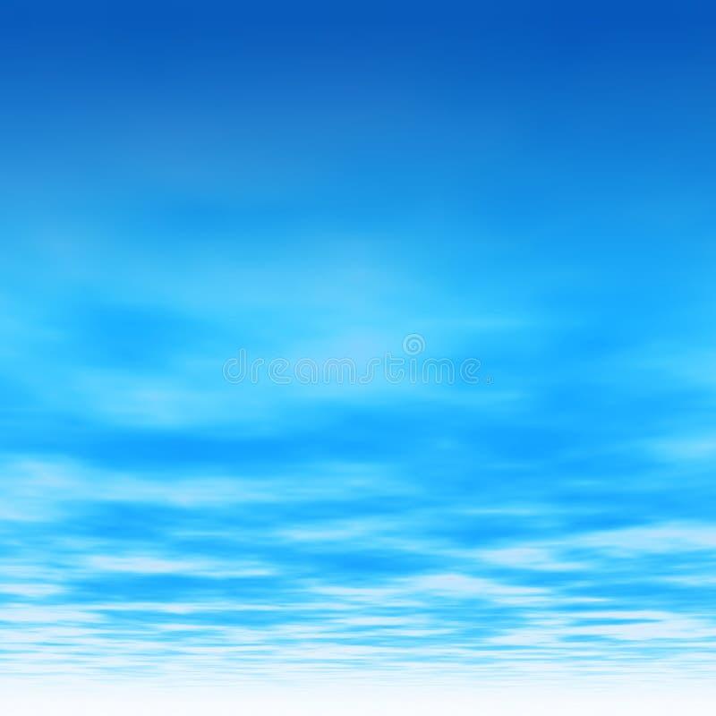 голубое ясное небо бесплатная иллюстрация