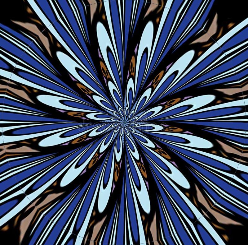 Голубое abstrac сигнала цветовой синхронизации стоковое фото