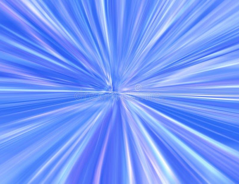 голубое starburst иллюстрация штока