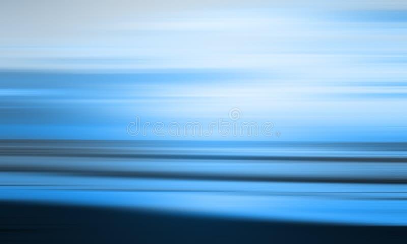 Голубой абстрактный пляж стоковые фотографии rf