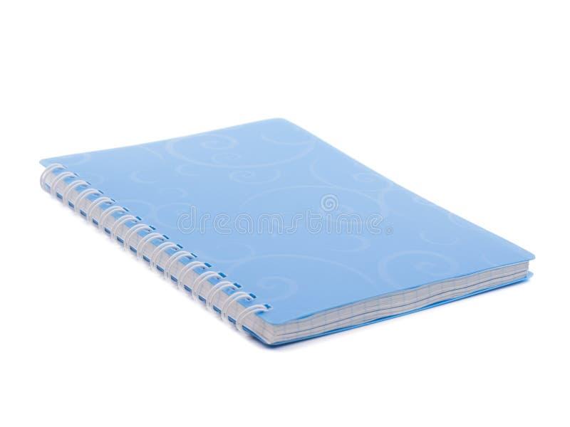 голубой блокнот Сделать список иллюстрация вектора