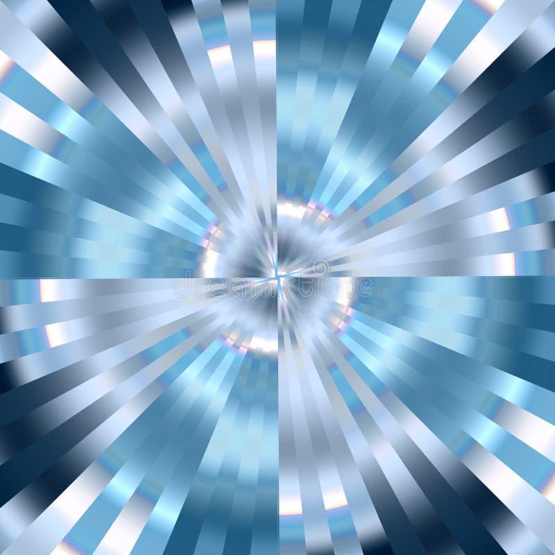 голубой вортекс иллюстрация штока