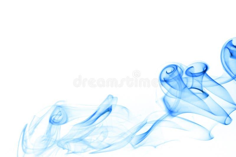 голубой дым стоковое изображение