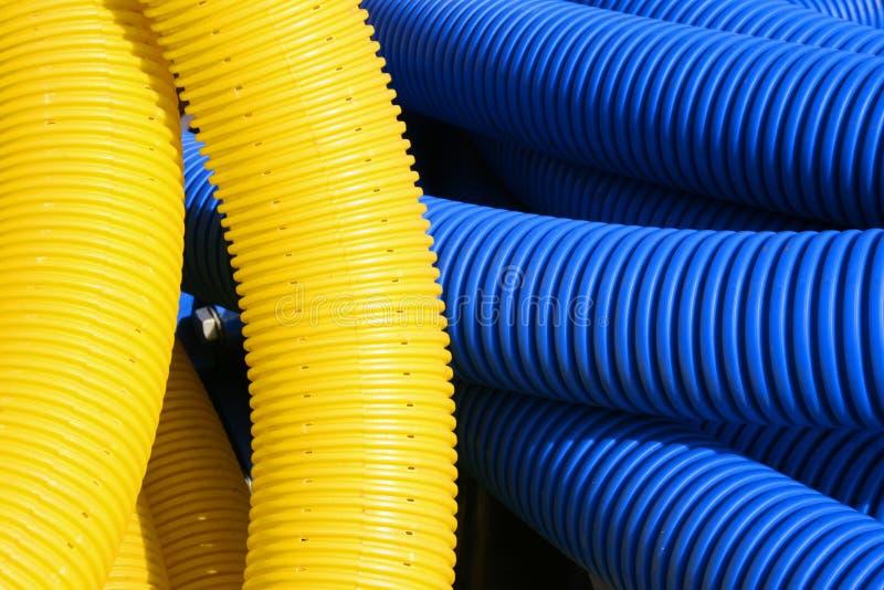 голубой желтый цвет текстуры стоковые изображения rf