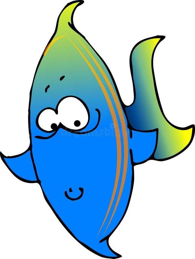 Download голубой зеленый цвет рыб иллюстрация штока. иллюстрации насчитывающей потеха - 488413