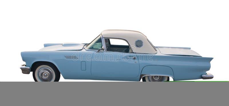 голубой классицистический свет coupe стоковое фото
