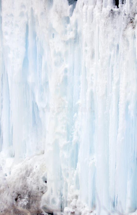 голубой ледниковый щит tinged стоковое изображение