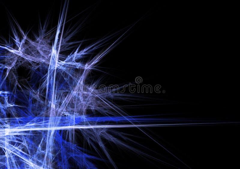 голубой льдед иллюстрация штока