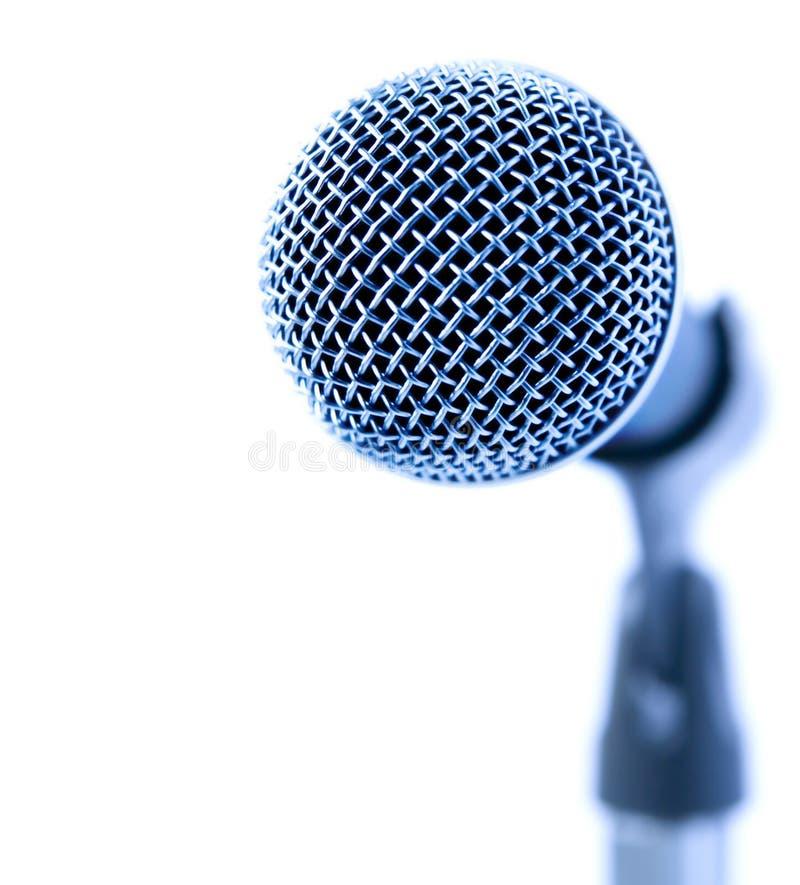голубой микрофон