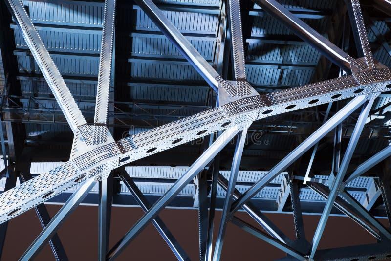 голубой мост cleveland стоковое изображение