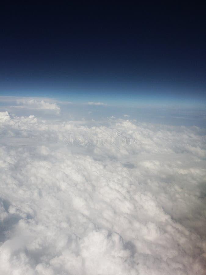 голубой номер майора горизонта приказал взгляд сфер космоса планеты стоковая фотография rf
