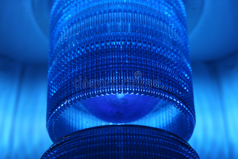 голубой объектив стоковые фото
