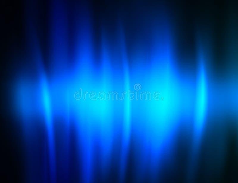 голубой океан высоких текучестей иллюстрация штока