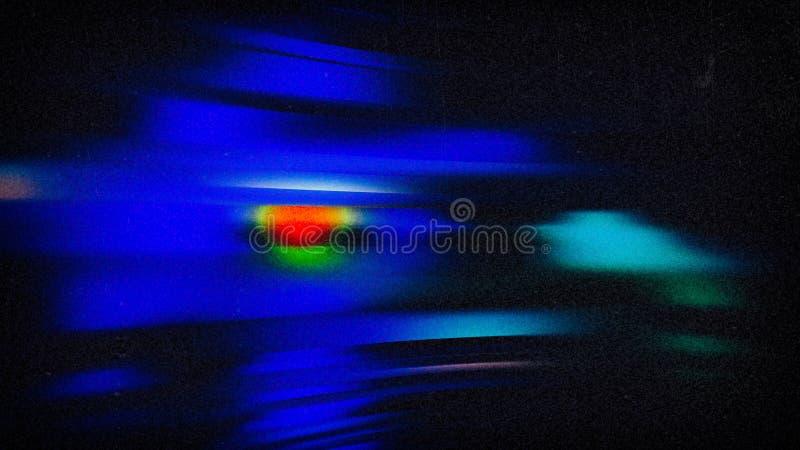 Голубой светлый визуальный эффект освещая предпосылку дизайна графического искусства иллюстрации предпосылки красивую элегантную бесплатная иллюстрация