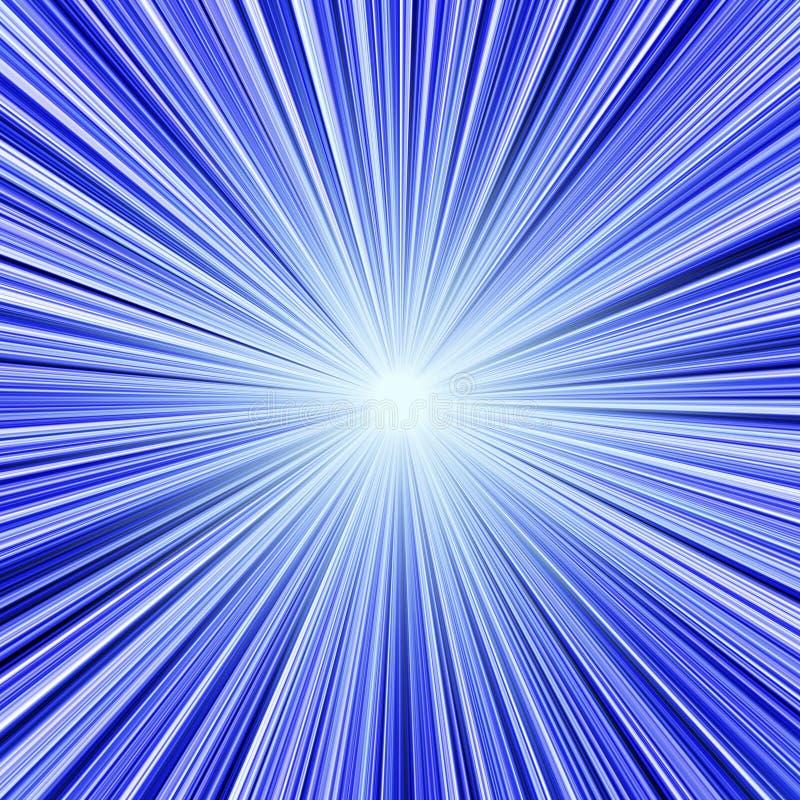 голубой светлый тоннель бесплатная иллюстрация