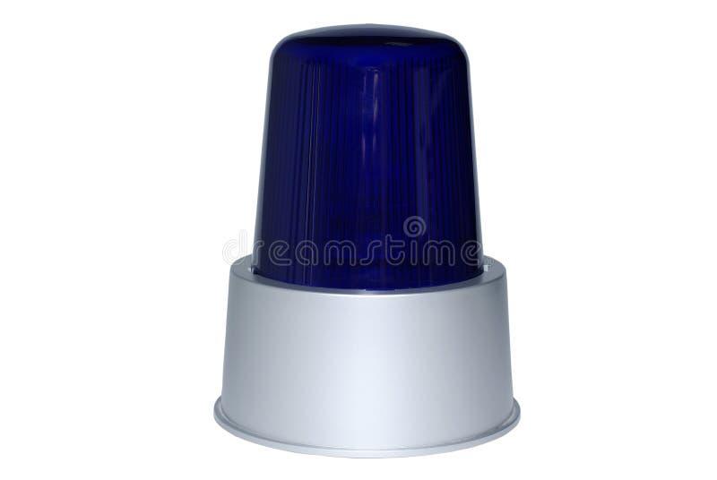 голубой светосигнализатор стоковая фотография