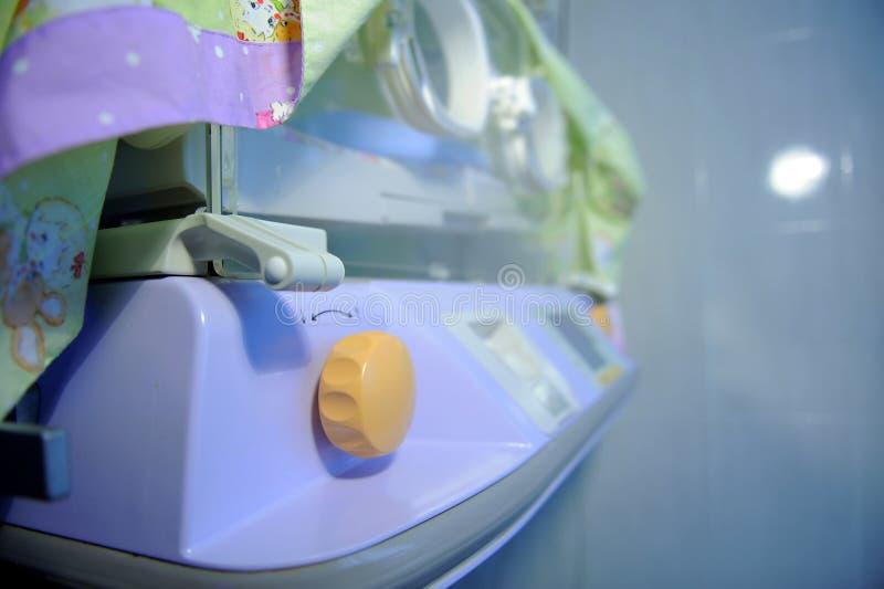 голубой свет инкубатора элементов стоковые изображения