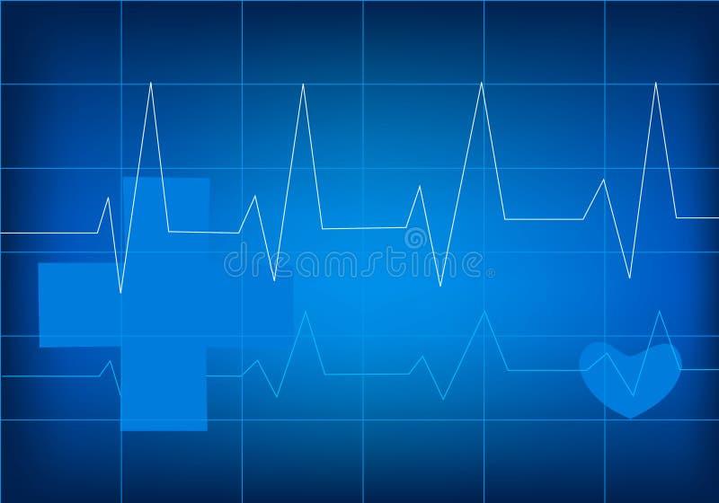 голубой сотрудник военно-медицинской службы иллюстрация штока