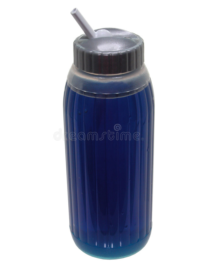 голубой спорт еды питья стоковая фотография