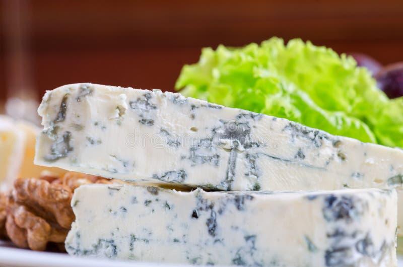 Голубой сыр стоковая фотография