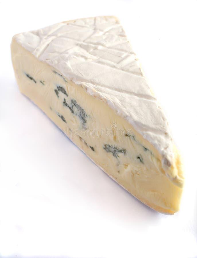 голубой сыр brie стоковое изображение
