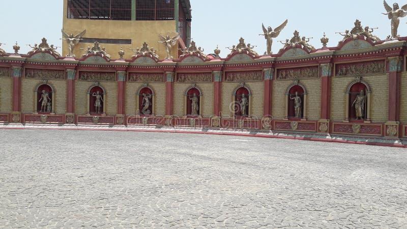 Голубой тематический парк мира, kanpur стоковая фотография