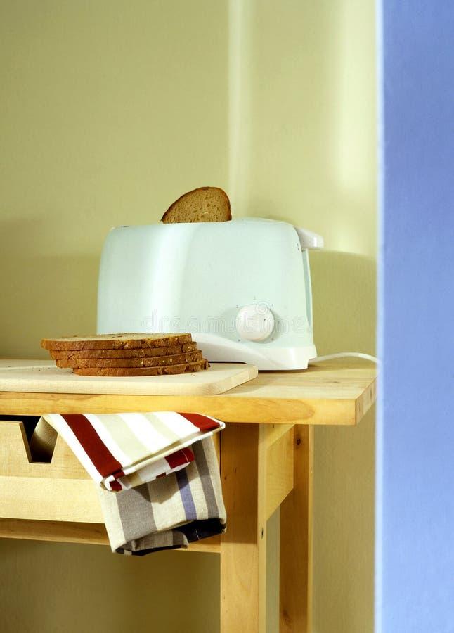 голубой тостер стоковые фото