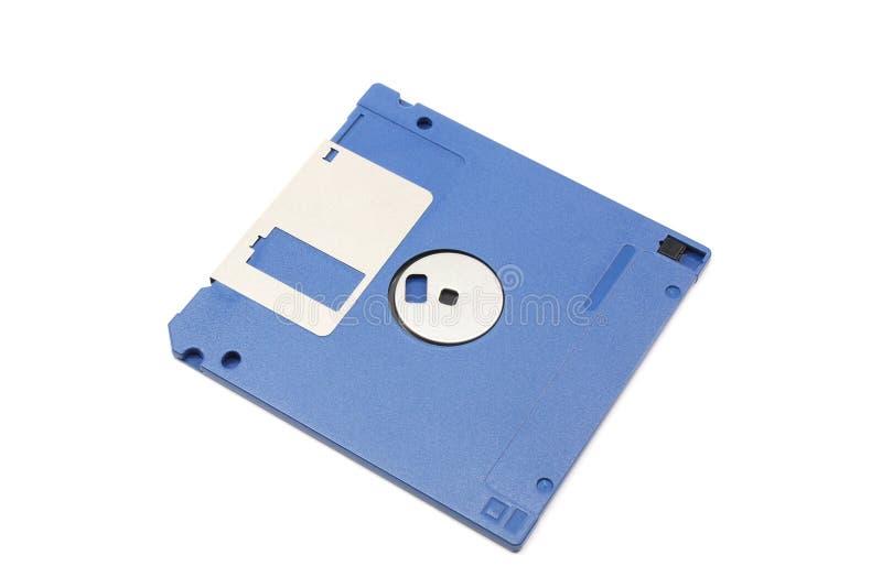 голубой флапи-диск дискета стоковое фото