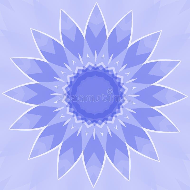 голубой цветок бесплатная иллюстрация