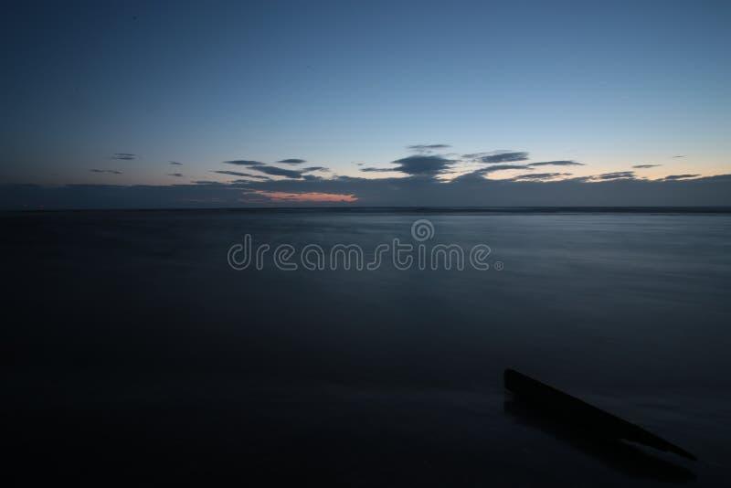 голубой час стоковое фото rf