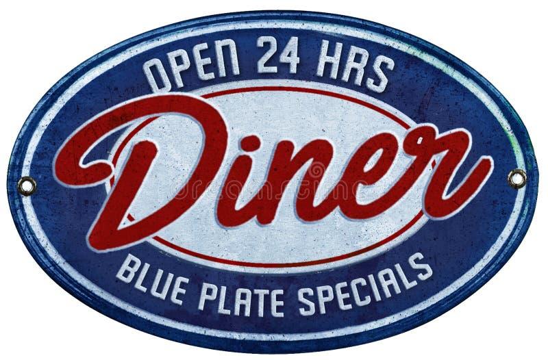 голубой экстренныйый выпуск плиты стоковая фотография rf