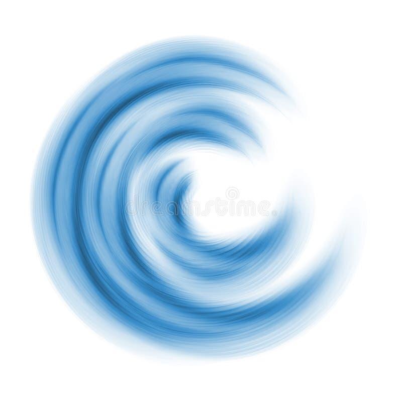 голубой c иллюстрация штока