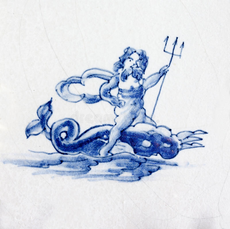 голубой delft стоковые фото