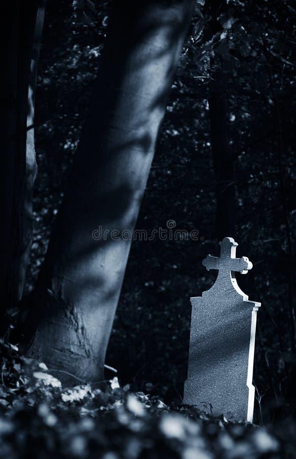 голубой gravestone стоковые изображения