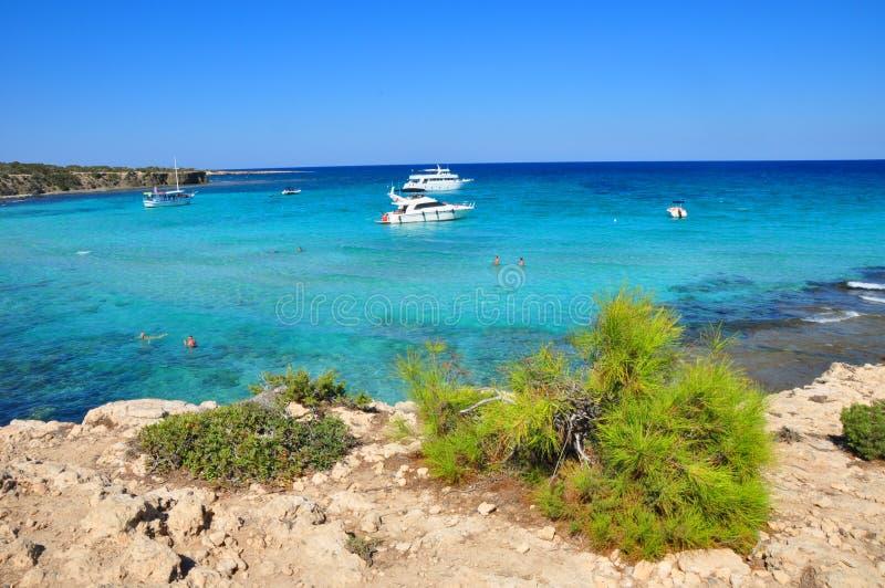голубой laguna стоковая фотография rf